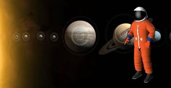 Alineación de planetas del sistema solar.